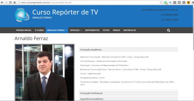 Curso_Repórter de TV